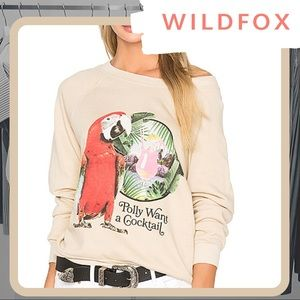 🆕 NWT WILDFOX Hey Polly Sommers Sweater
